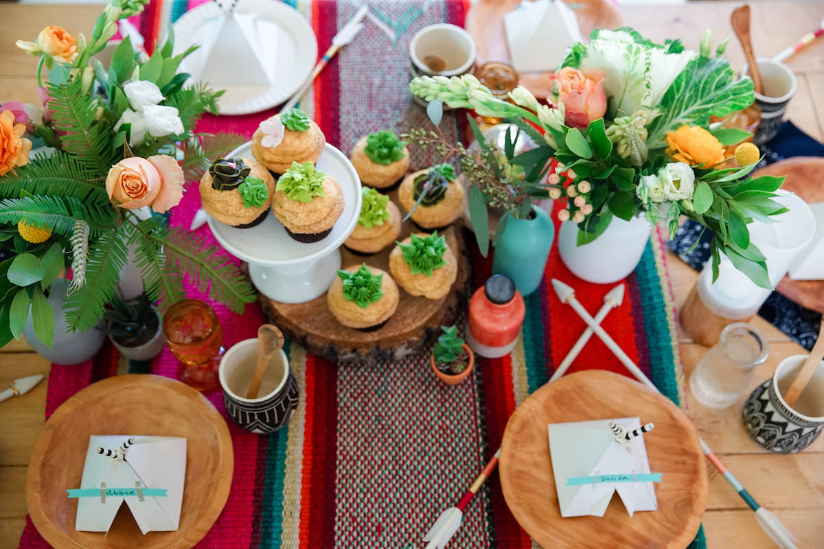 Desert Chic Baby Shower via Love Child | www.lovechildmag.com | Motherhood Lifestyle Website Photo Credit: Dos Mundos Creative