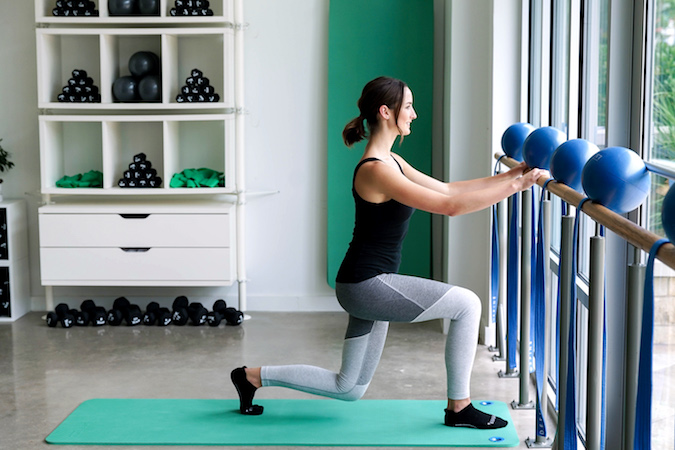 Lunges At The Barre, Position 2